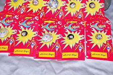 Sailor Moon vintage metal round pin Germany 2000 German