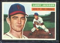 1956     Topps   Baseball   # 119   Larry Jackson  (GB)     NM   Near Mint
