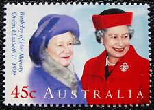 1999 QUEEN'S BIRTHDAY QUEEN ELIZABETH II AUSTRALIAN DECIMAL ISSUE **MUH**!!!