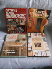 Lot of 4 Home Improvement/Frame/Furniture Repair  Books
