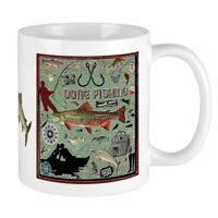 CafePress Gone Fishing Mug Mugs 11 oz Ceramic Mug (1283922604)