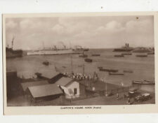 Customs House Aden Vintage RPPC Postcard M Howard US045