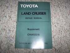 1975 Toyota Land Cruiser FJ40 Chassis Service Repair Manual Supplement 1976 1977