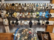 HUGE VINTAGE TO NOW ASSORTED WATCH LOT!70+ WATCHES! M.K., GUESS, SEIKO+++