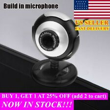 USB 2.0 Web Camera Webcam Video Recording with Microphone For PC Laptop Desktop_