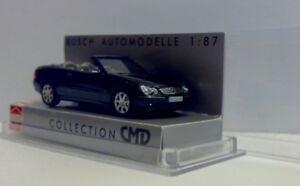 Mercedes CLK Cabrio dunkelgrünmet. 2003 - 1:87 CMD