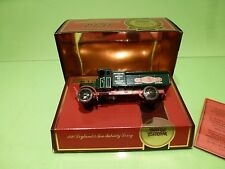 MATCHBOX YESTERYEAR 1920 LEYLAND 3 TON SUBSIDY LORRY -  GREEN - NMIB