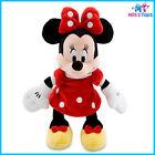 "Disney Red Minnie Mouse 9 1/4"" Plush Mini Bean Bag Doll brand new"