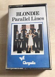 Blondie - Parallel Lines 1978 Cassette, Tape