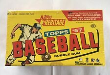 2006 Topps Heritage Factory Sealed Baseball Hobby Box