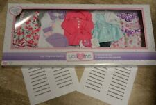 "You & and Me 5 Pack Playtime Baby Doll Outfits Clothes Lot Fits 12-14"" Toys R Us"