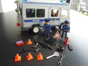 Playmobil  4022 Polizeibus Mannschaftswagen Gefangenentransport
