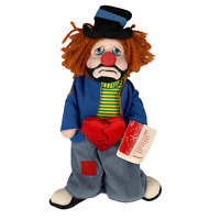 Vtg Applause Ron Lee Clown Doll Heartbroken Harry 2524 Limited Ed 4626/5000 1988