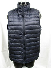 Blue Uniqlo Women's Goose Down Vest Lightweight Jacket Sz M