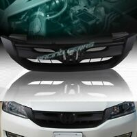 JDM MODUL STYLE CHROME ABS FRONT HOOD GRILLE GRILL FIT 13-15 HONDA ACCORD 4-DR
