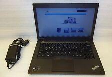 Lenovo Thinkpad T440 Laptop intel Core i5 4300u 4th gen 1.90 GHZ 4GB 320GB Linux