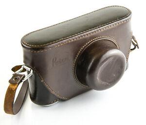 """Leitz Leica Leather Eveready Case for IIIg 1/4"""" thread connection"""