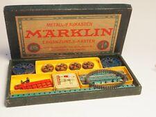 Märklin Pre-war antique Erector set #1A Marklin