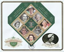 St LUCIA 6 FEBRUARY 2012 DIAMOND JUBILEE M/SHEET O/S VLE FIRST DAY COVER