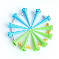 12pcs Automatic Self Watering Spikes System Garden Home Plant Waterer Tools Neu