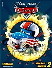 LEERALBUM  -  World of CARS 2  (2010) + 79 vers. Sticker