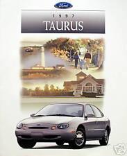 1997 Ford Taurus sedan/wagon new vehicle brochure