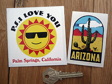Arizona PALM SPRINGS Cal  Classic American car stickers