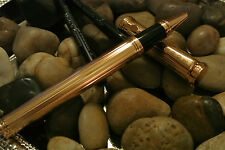 TOURNEAU $350 23KT GOLD P DIAMOND CUT PEN GERMAN MADE-TONY BENNETT ! 90% OFF !!!