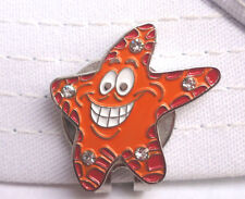 Starfish Golf Ball Marker - W/Bonus Magnetic Hat Clip - Very Cute