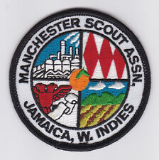 SCOUTS OF WEST INDIES - JAMAICA MANCHESTER SCOUT Patch
