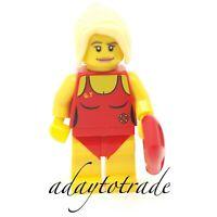 LEGO Collectable Mini Figure Series 2 Female Lifeguard - 8684-8 COL024 R1107