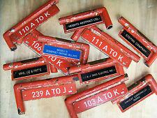 Shea Stadium N Y Mets Field Level rail name plates, season ticket holders PICK 1
