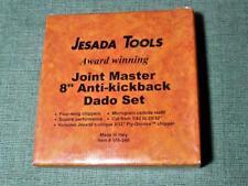 "JESADA 108-240 8"" ANTI-KICKBACK JOINT MASTER DADO SET. BRAND NEW!"