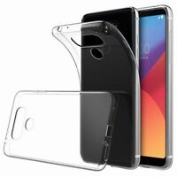 LG G6 Transparent Case Crystal Clear Soft Thin Flexible TPU Cover