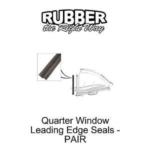 1961 1962 1963 Ford Thunderbird Quarter Window Seals - pair
