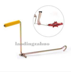 Car Steel Tire Wheel Lug Wrench Scissor Jack Crank Speed Handle Lift Tool