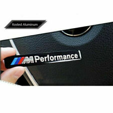 2X M Performance Car Side Door/Fender Sticker Emblem Badges For BMW Sport  Decal