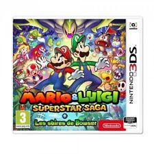 Mario & Luigi : Superstar Saga + Les sbires de Bowser Jeu 3DS