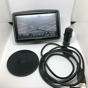 TomTom XXL 310 US and Canada N14644 with charger and mount plate