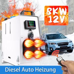 8KW 12V Auto Diesel-Heizung Standheizung Luftheizung Air Heater PKW/LKW/LCD Weiß