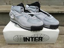 Vtg INTER Sierra Lite Grey Hiking Hunting Boots Size 10  Made USA Sierra Hiker