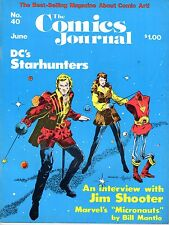THE COMICS JOURNAL 40 ANNEE 1978 (EN ANGLAIS)