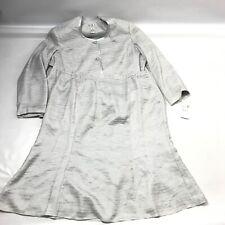 G.M.I Women 2 Pc Skirt Suit 26W Plus Blazer Jacket Gray Church Special Occasion