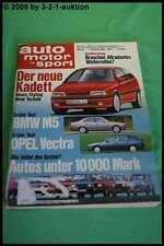 AMS Auto Motor Sport 21/88 * BMW M3 M5 Corvette ZR1 Toyota HJ 61 190 E 2.5-16