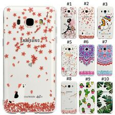 Silicone Soft TPU Pattern Clear Case For Samsung Galaxy S7edge S8 Plus & Huawei
