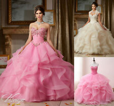 New Beaded Quinceanera Dress Ball Wedding Gown Prom Party Formal Dresses Custom