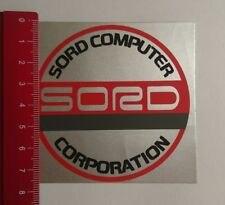 Pegatina/sticker: Sord Computer Corporation (21031724)