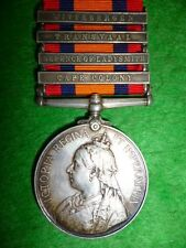 Queen's South Africa Medal 1899-1902, (4) unique to The 19th Hussars, Kilkenny