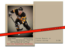 NEW Custom SIDNEY CROSBY 1951-52 Style High Quality card only 30 made!! Pens