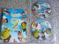 Dvd shreck 2 disc only (146)
